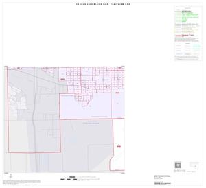 Primary view of object titled '2000 Census County Subdivison Block Map: Plainview CCD, Texas, Inset B03'.