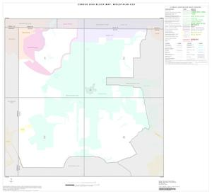 Primary view of object titled '2000 Census County Subdivison Block Map: Midlothian CCD, Texas, Index'.