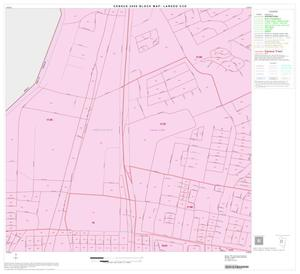 Primary view of object titled '2000 Census County Subdivison Block Map: Laredo CCD, Texas, Block 10'.
