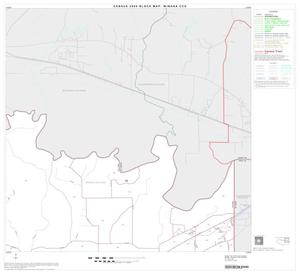 Primary view of object titled '2000 Census County Subdivison Block Map: Winona CCD, Texas, Block 3'.