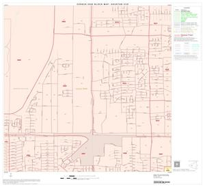 Primary view of object titled '2000 Census County Subdivison Block Map: Houston CCD, Texas, Block 63'.