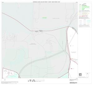 Primary view of object titled '2000 Census County Subdivison Block Map: East Grayson CCD, Texas, Block 1'.