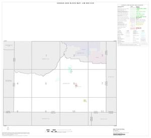 Primary view of object titled '2000 Census County Subdivison Block Map: Jim Ned CCD, Texas, Index'.