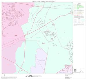 Primary view of object titled '2000 Census County Subdivison Block Map: Southwest CCD, Texas, Block 33'.