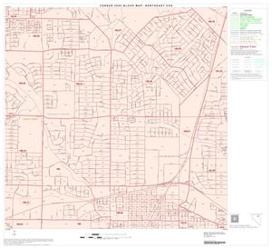 Primary view of object titled '2000 Census County Subdivison Block Map: Northeast CCD, Texas, Block 14'.