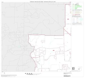 Primary view of object titled '2000 Census County Subdivison Block Map: Devine-Natalia CCD, Texas, Block 4'.