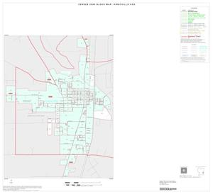 Primary view of object titled '2000 Census County Subdivison Block Map: Kirbyville CCD, Texas, Inset A01'.