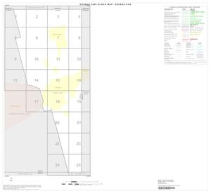 Primary view of object titled '2000 Census County Subdivison Block Map: Odessa CCD, Texas, Index'.