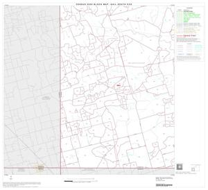 Primary view of object titled '2000 Census County Subdivison Block Map: Gail South CCD, Texas, Block 4'.