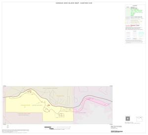 Primary view of object titled '2000 Census County Subdivison Block Map: Canyon CCD, Texas, Inset A01'.