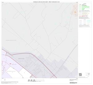 Primary view of object titled '2000 Census County Subdivison Block Map: West Brazos CCD, Texas, Block 3'.