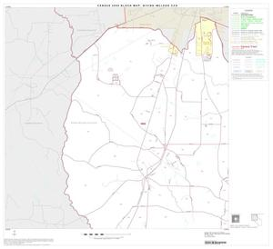 Primary view of object titled '2000 Census County Subdivison Block Map: Bivins-McLeod CCD, Texas, Block 1'.