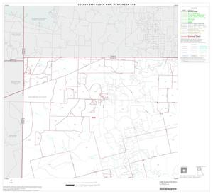 Primary view of object titled '2000 Census County Subdivison Block Map: Westbrook CCD, Texas, Block 1'.