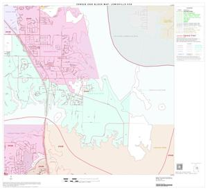 Primary view of object titled '2000 Census County Subdivison Block Map: Lewisville CCD, Texas, Block 8'.