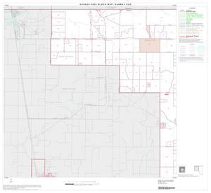 Primary view of object titled '2000 Census County Subdivison Block Map: Sunray CCD, Texas, Block 1'.