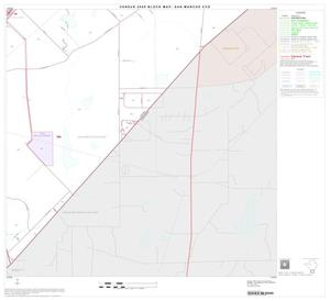 Primary view of object titled '2000 Census County Subdivison Block Map: San Marcos CCD, Texas, Block 13'.
