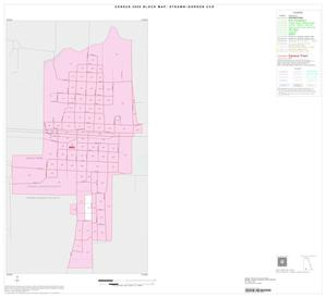 Primary view of object titled '2000 Census County Subdivison Block Map: Strawn-Gordon CCD, Texas, Inset B01'.