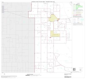 Primary view of object titled '2000 Census County Subdivison Block Map: Crosbyton CCD, Texas, Block 3'.