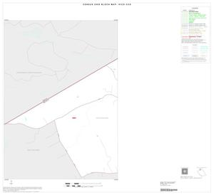 Primary view of object titled '2000 Census County Subdivison Block Map: Hico CCD, Texas, Inset A01'.