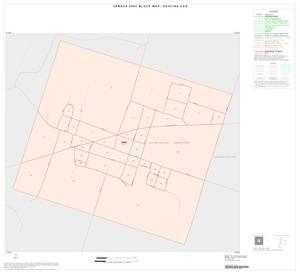 Primary view of object titled '2000 Census County Subdivison Block Map: Gustine CCD, Texas, Inset B01'.