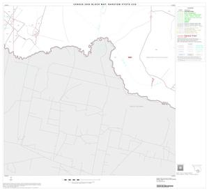 Primary view of object titled '2000 Census County Subdivison Block Map: Barstow-Pyote CCD, Texas, Block 11'.