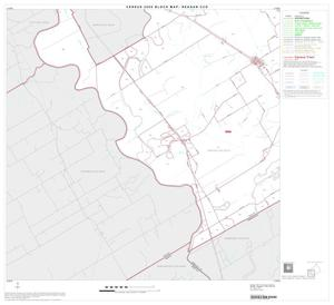 Primary view of object titled '2000 Census County Subdivison Block Map: Reagan CCD, Texas, Block 3'.