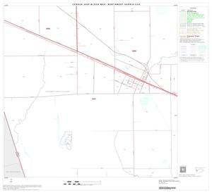 Primary view of object titled '2000 Census County Subdivison Block Map: Northwest Harris CCD, Texas, Block 16'.