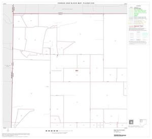 Primary view of object titled '2000 Census County Subdivison Block Map: Plains CCD, Texas, Block 1'.