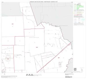 Primary view of object titled '2000 Census County Subdivison Block Map: Northeast Harris CCD, Texas, Block 6'.