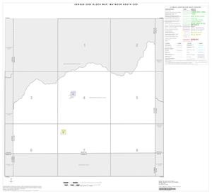 Primary view of object titled '2000 Census County Subdivison Block Map: Matador South CCD, Texas, Index'.