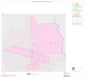 Primary view of object titled '2000 Census County Subdivison Block Map: Ector CCD, Texas, Inset B01'.
