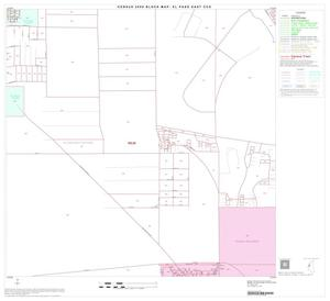 Primary view of object titled '2000 Census County Subdivison Block Map: El Paso East CCD, Texas, Block 16'.