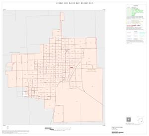 Primary view of object titled '2000 Census County Subdivison Block Map: Munday CCD, Texas, Inset A01'.