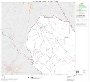 Primary view of object titled '2000 Census County Subdivison Block Map: Personville CCD, Texas, Block 1'.