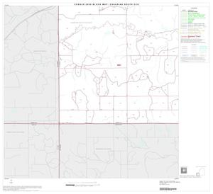 Primary view of object titled '2000 Census County Subdivison Block Map: Canadian South CCD, Texas, Block 6'.