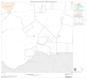 Primary view of object titled '2000 Census County Subdivison Block Map: North Jim Hogg CCD, Texas, Block 6'.