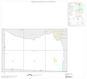 Primary view of object titled '2000 Census County Subdivison Block Map: Valley View CCD, Texas, Index'.