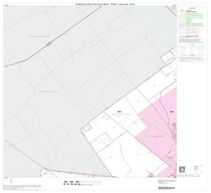 Primary view of object titled '2000 Census County Subdivison Block Map: Port Lavaca CCD, Texas, Block 1'.