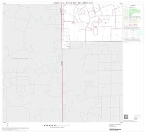 Primary view of object titled '2000 Census County Subdivison Block Map: Rochester CCD, Texas, Block 4'.