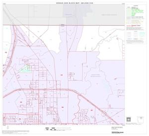 Primary view of object titled '2000 Census County Subdivison Block Map: Abilene CCD, Texas, Block 3'.