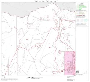 Primary view of object titled '2000 Census County Subdivison Block Map: Borger CCD, Texas, Block 11'.