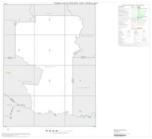 Primary view of object titled '2000 Census County Subdivison Block Map: East Terrell CCD, Texas, Index'.