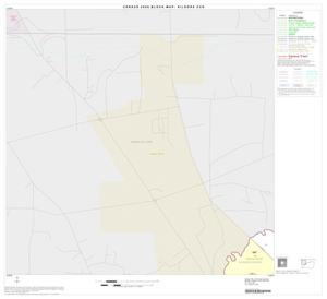 Primary view of object titled '2000 Census County Subdivison Block Map: Kilgore CCD, Texas, Block 1'.