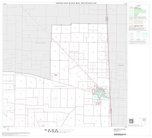 Primary view of object titled '2000 Census County Subdivison Block Map: Whiteface CCD, Texas, Block 2'.