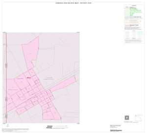 Primary view of object titled '2000 Census County Subdivison Block Map: Poteet CCD, Texas, Inset A01'.