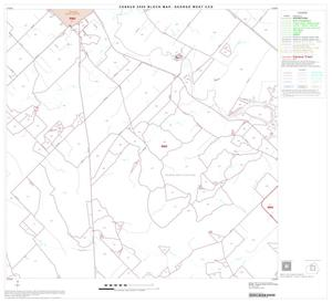 Primary view of object titled '2000 Census County Subdivison Block Map: George West CCD, Texas, Block 5'.