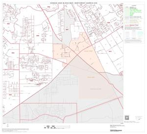 Primary view of object titled '2000 Census County Subdivison Block Map: Northwest Harris CCD, Texas, Block 28'.