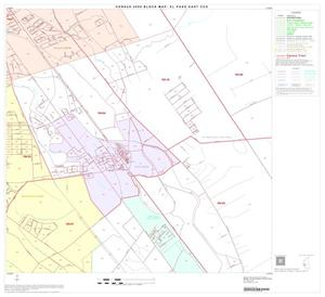 Primary view of object titled '2000 Census County Subdivison Block Map: El Paso East CCD, Texas, Block 26'.