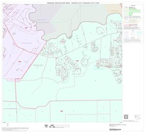 Primary view of object titled '2000 Census County Subdivison Block Map: Texas City-League City CCD, Texas, Block 6'.