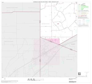Primary view of object titled '2000 Census County Subdivison Block Map: West Bexar CCD, Texas, Block 16'.